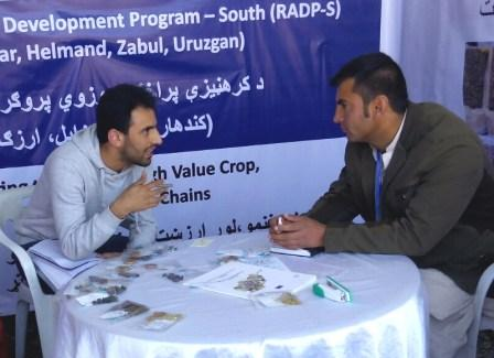 Afghanistan Interview bank client from south region